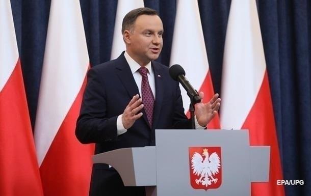 Дуда приедет на саммит Крымской платформы