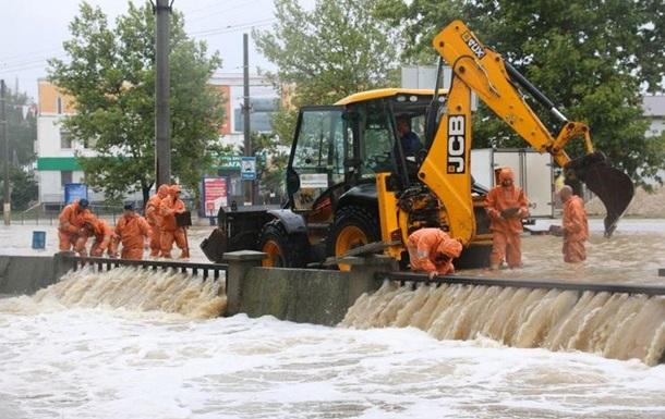 В Керчи началась эвакуация из-за ливней