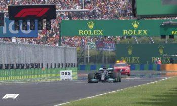 Окон сенсационно выиграл Гран-при Венгрии, воспользовавшись аварией лидеров на старте