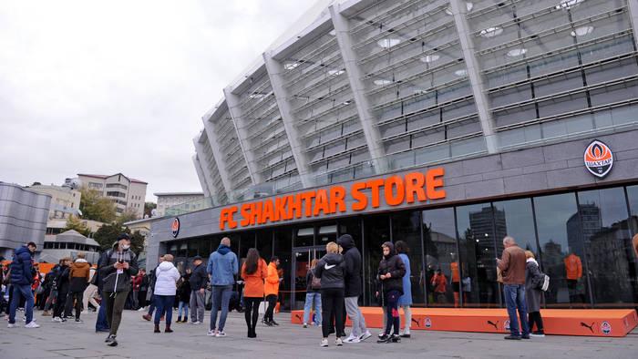 Шахтер открыл фан-шоп на НСК Олимпийском