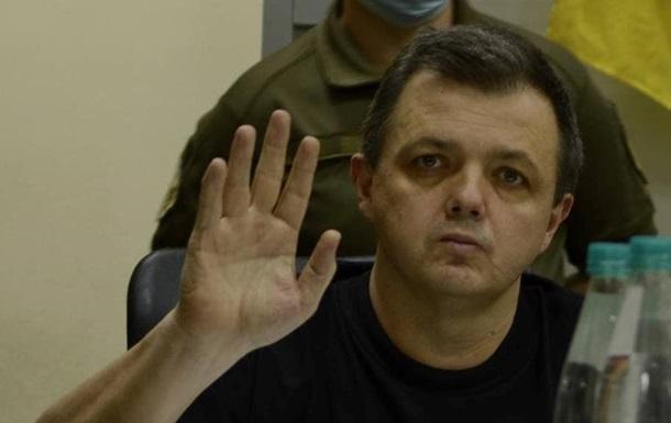 Голодающему Семенченко продлили арест
